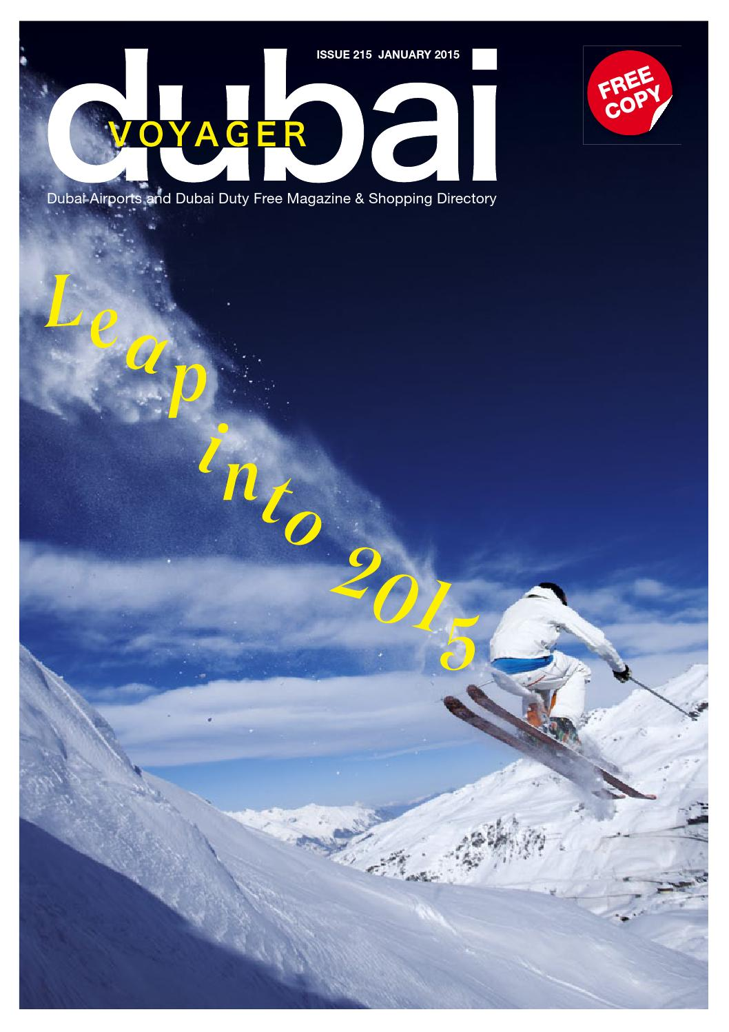 Dubai Voyager January 2015 By Motivate Media Group Issuu