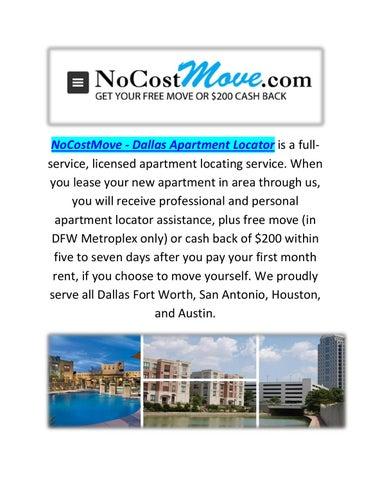 NoCostMove - Dallas Apartment Locator : Dallas Apartment