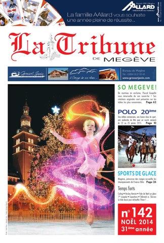 323654527528ea LA TRIBUNE DE MEGEVE n°142 by La Tribune de Megève - issuu
