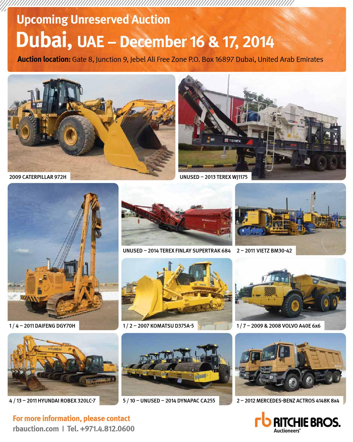 Construction Machinery ME December 2014