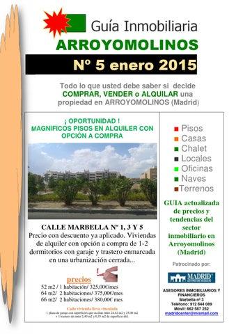 Guia arroyomolinos enero 2015 by la empresa al dia issuu - Alquiler pisos en arroyomolinos ...