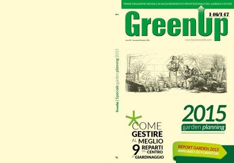 Garden Planningreport Garden 2015 By Edizioni Laboratorio Verde Issuu