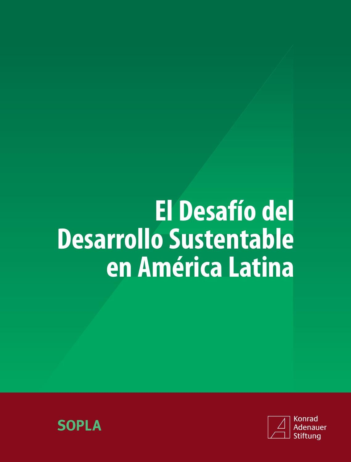 Resultado de imagen para El desafio del desarrollo sustentable en América Latina