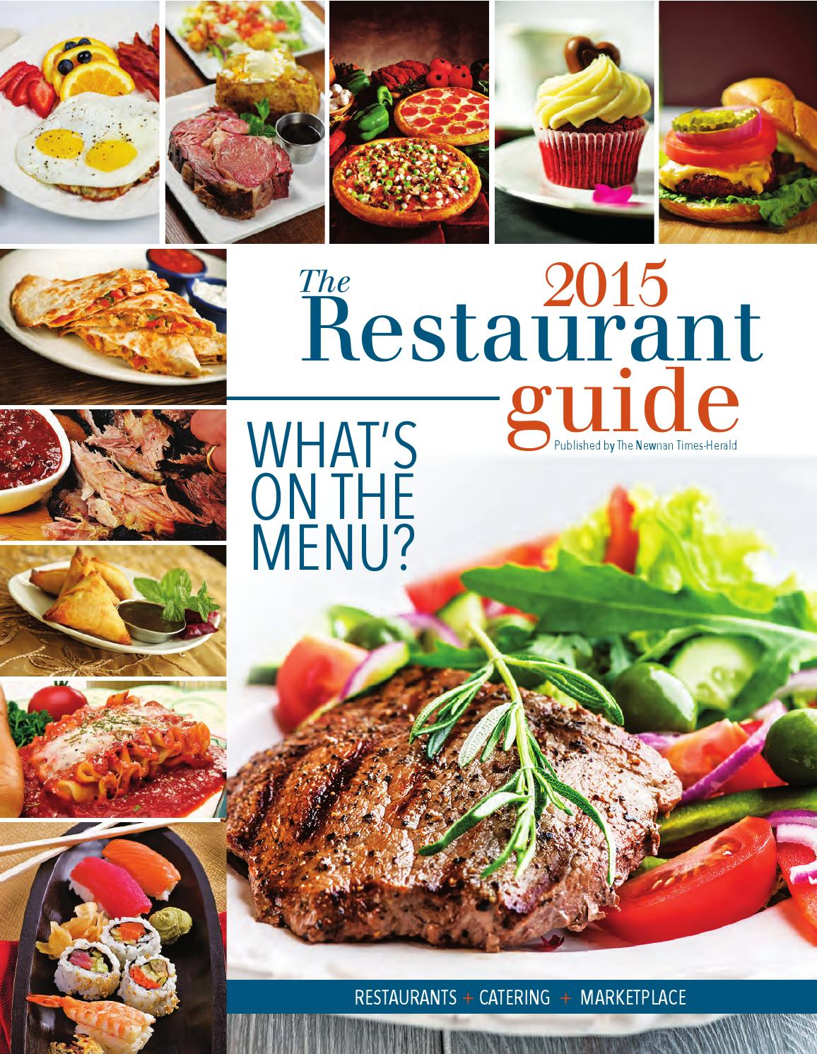 Restaurant Guide 2015 By The Times Herald Issuu