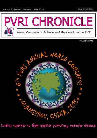 b3c7aa2d11d3d PVRI Chronicle Vol 2 Issue 1 by Pulmonary Vascular Research ...