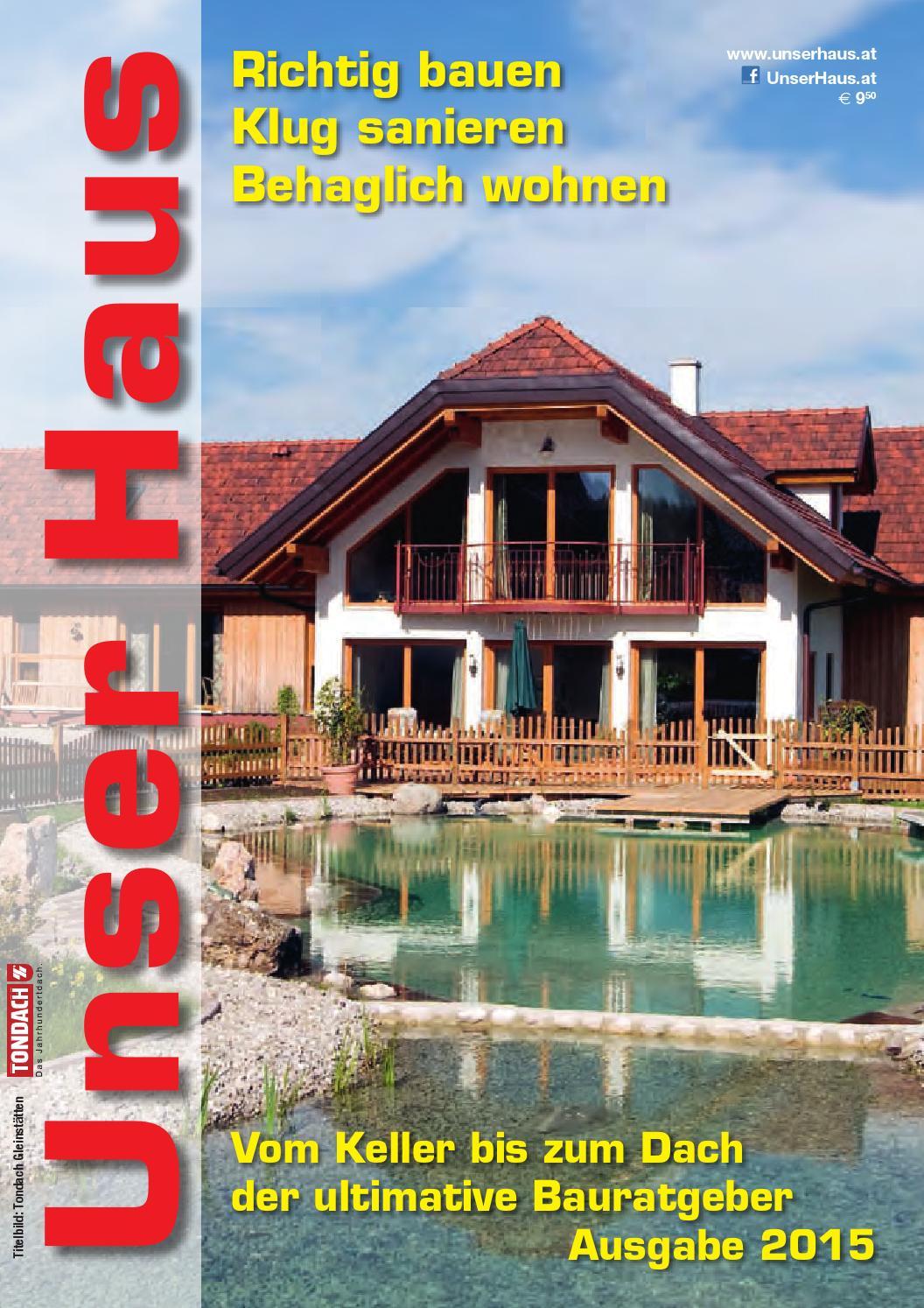 Unser Haus 2015 by Roland Kanfer - issuu