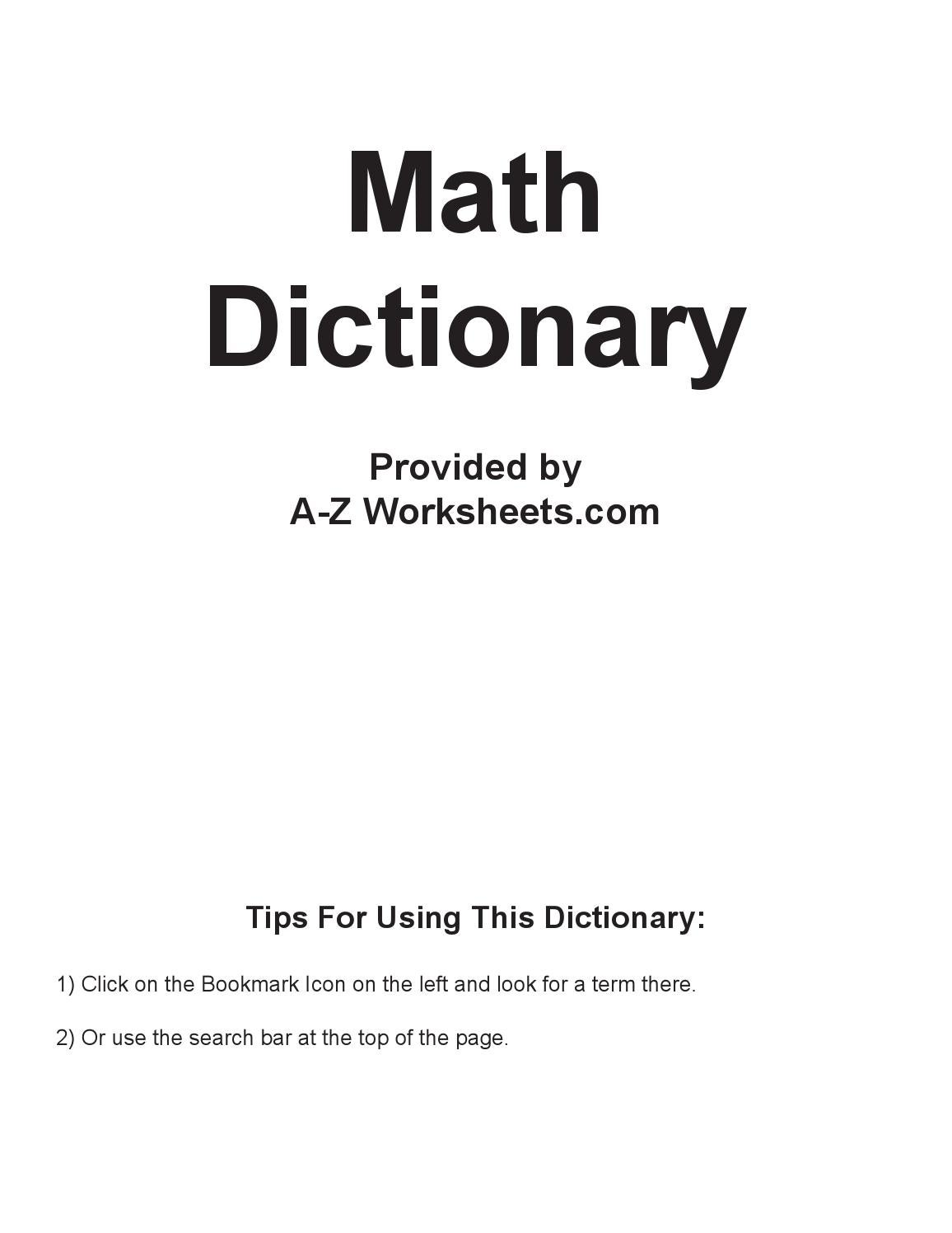 Dictionary math by cs2sk issuu biocorpaavc Images