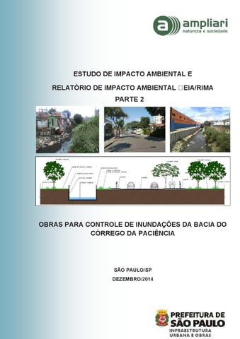 f5fa5384d3fb0 Estudo de Impacto Ambiental - Obras no Córrego da Paciência - parte ...