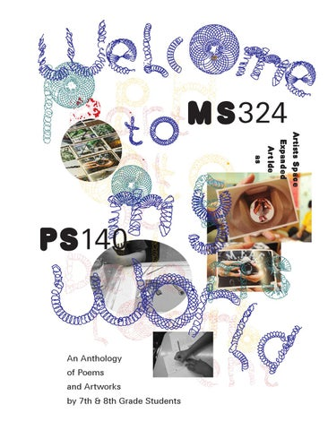 Welcome To My World An Anthology Of Poems Artworks By 7th 8th