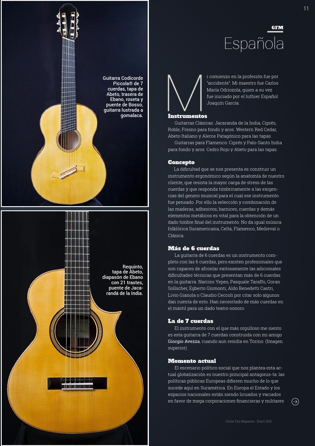 Guitar fair magazine n9 enero 2015 by Guitar Fair Magazine - issuu