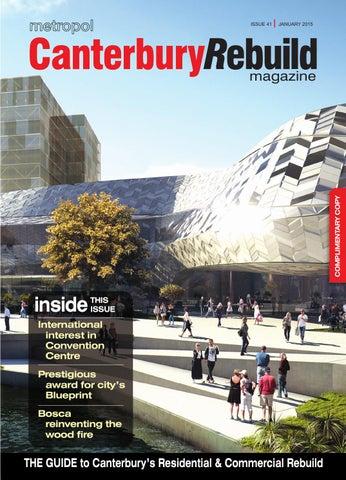 Canterbury rebuild magazine january 2015 issue 41 by metropol issuu page 1 malvernweather Gallery