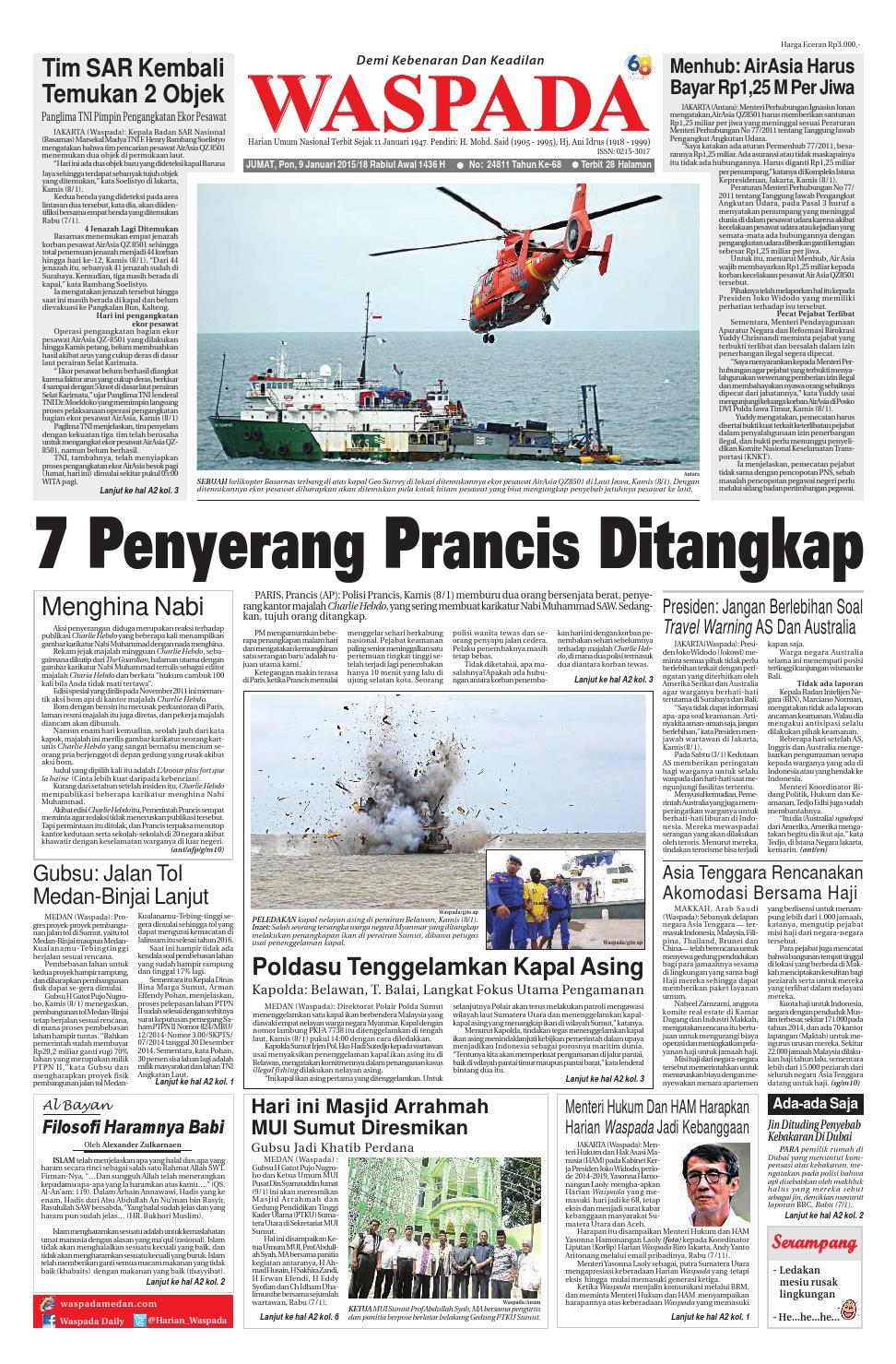 Waspada Jumat 9 Januari 2014 By Harian Waspada Issuu