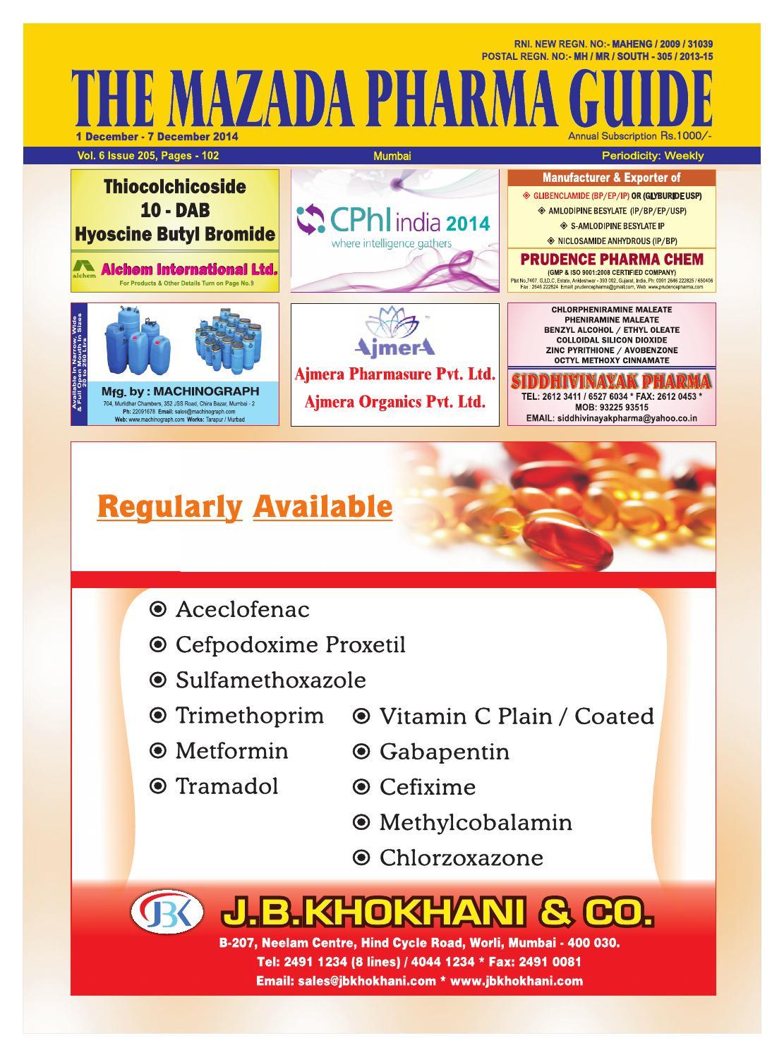 Levofloxacin hemihydrate usp 35 monograph.doc - The Mazda Pharma Guide 1 Dec 7 Dec 2014 By The Mazada Pharma Guide Issuu