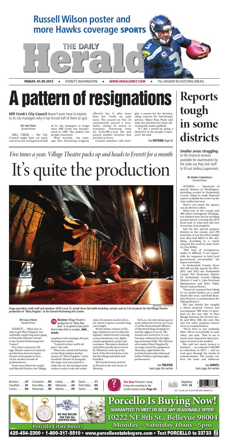 a6091c09ac1 Everett Daily Herald, January 09, 2015 by Sound Publishing - issuu