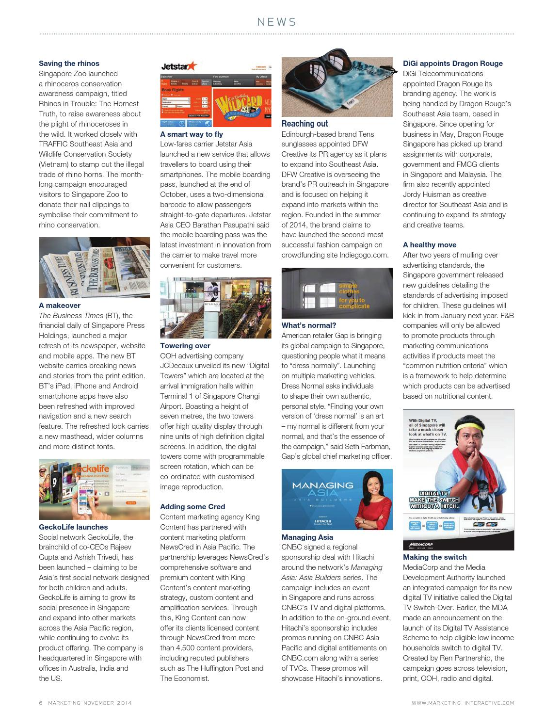 Marketing Magazine Sg Nov 2014 By Group Issuu 3 Way Navigation Switch