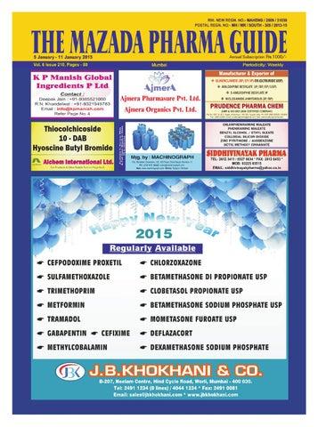 The mazda pharma guide 5 jan 11 jan 2015 by The Mazada