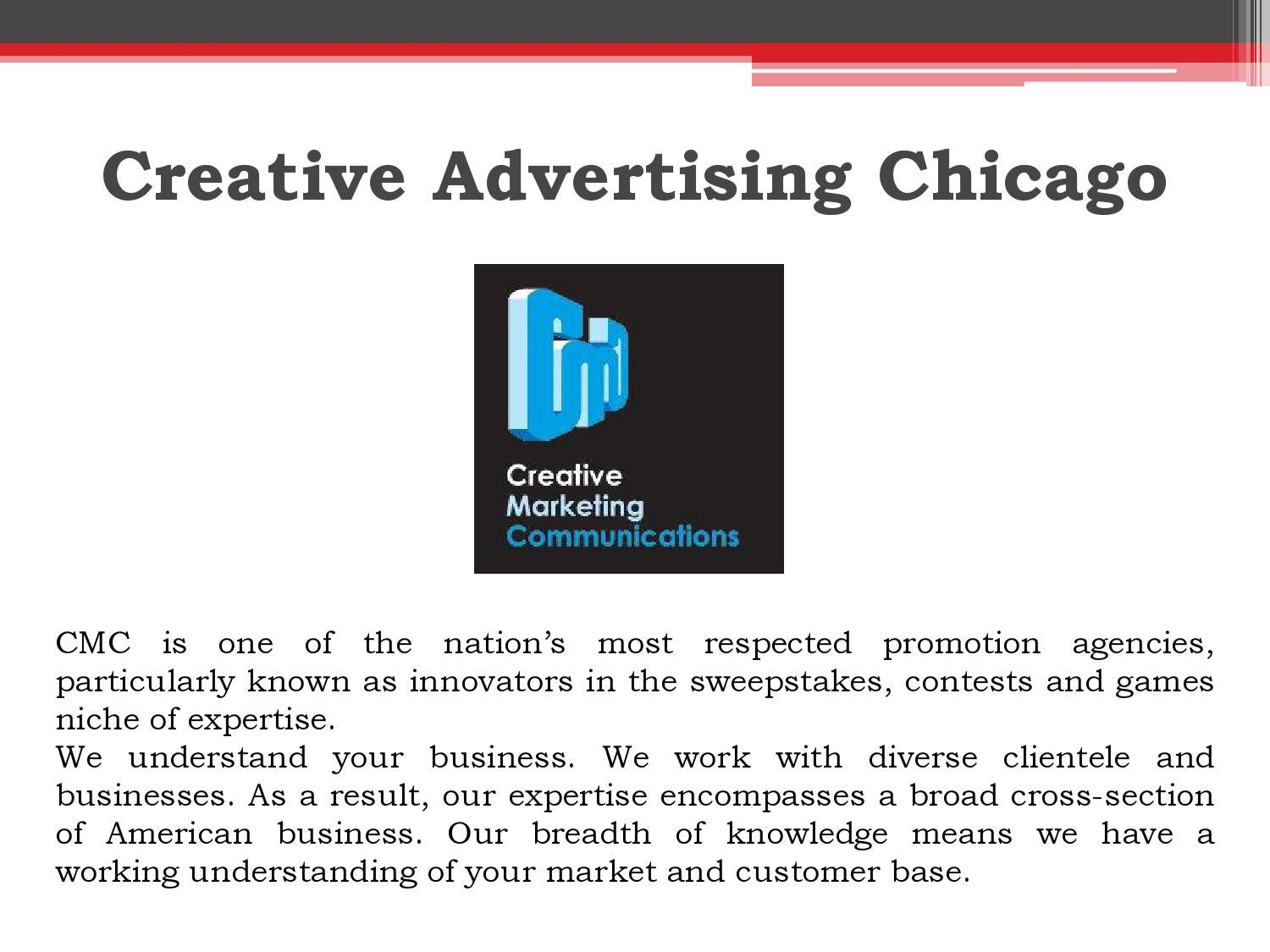 Creative advertising chicago by cmc2win - issuu