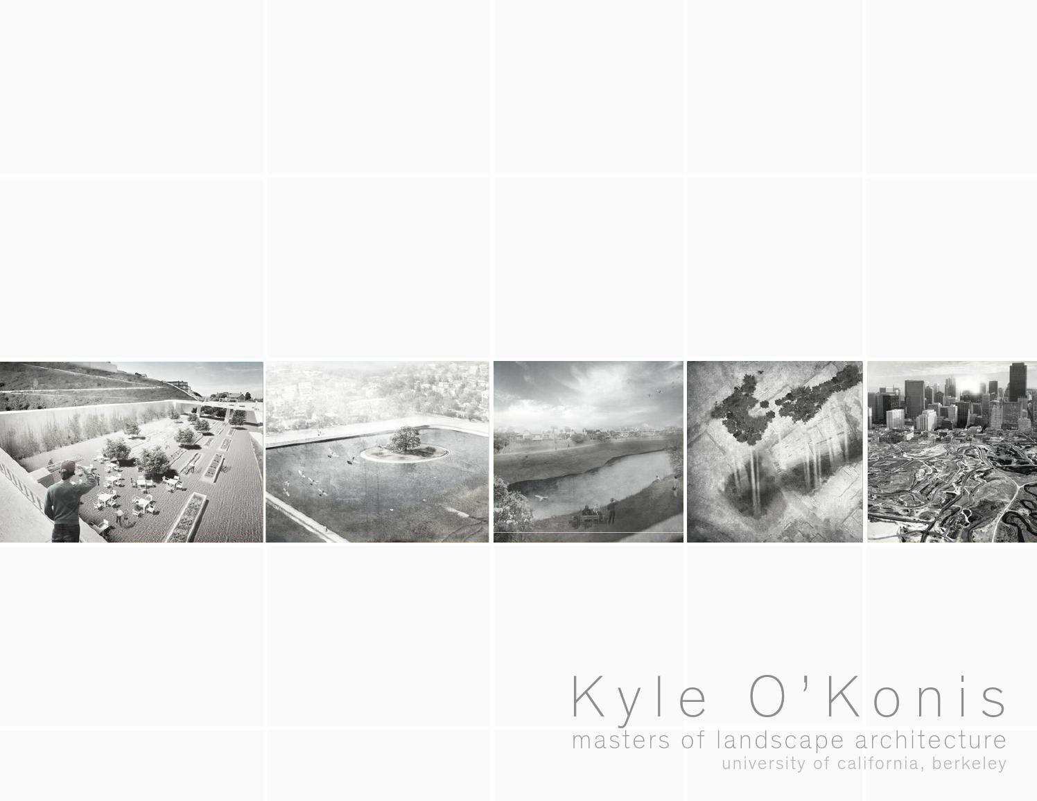 Kyle Ou0027Konis | Landscape Architecture Portfolio By Kyle Ou0027Konis   Issuu