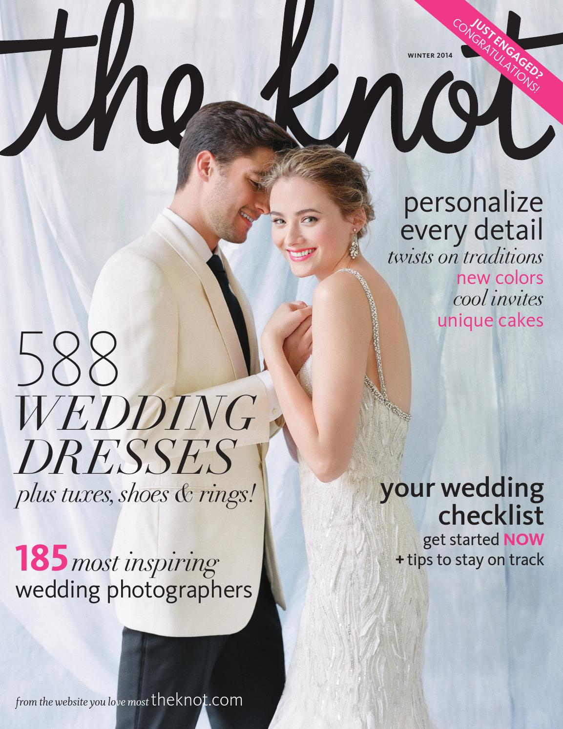 The Knot Winter 2014 by The Knot - issuu bf4b44662fb0
