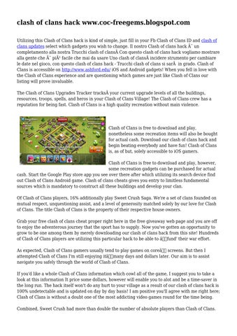 clash of clans free download on google play store