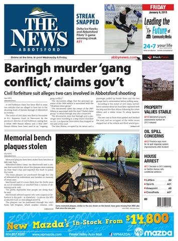 Abbotsford news january 09 2015 by black press issuu page 1 sciox Choice Image