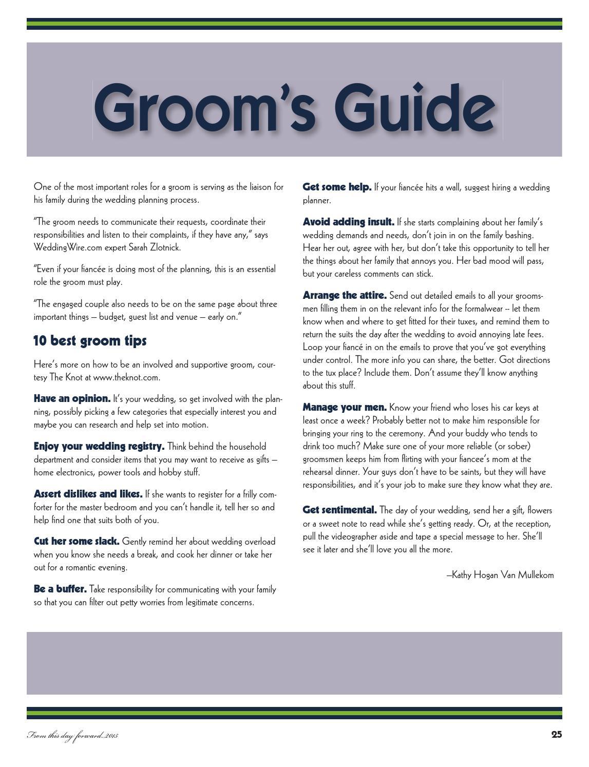 Bridal Guide 2015 Virginia Gazette By Daily Press Media Group Issuu