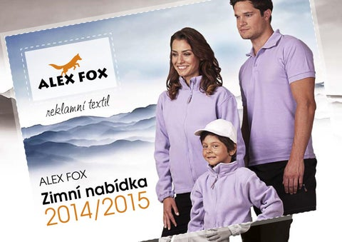 161b05df1 LAJKA Katalóg reklamný textil Alex Fox Zima 2014