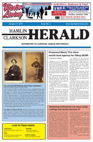 HamlinClarkson Herald January By Westside News Inc Issuu - What is a deposit invoice rocco's online store