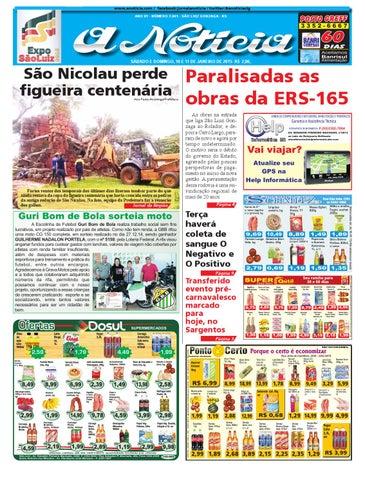 21785e45ac7cab Edição de 10 e 11 de janeiro de 2015 by Jornal A Notícia - issuu