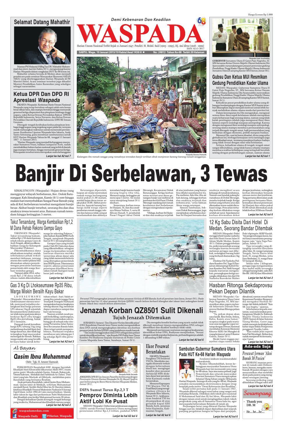 Waspada,sabtu 10 januari 10 by Harian Waspada   issuu