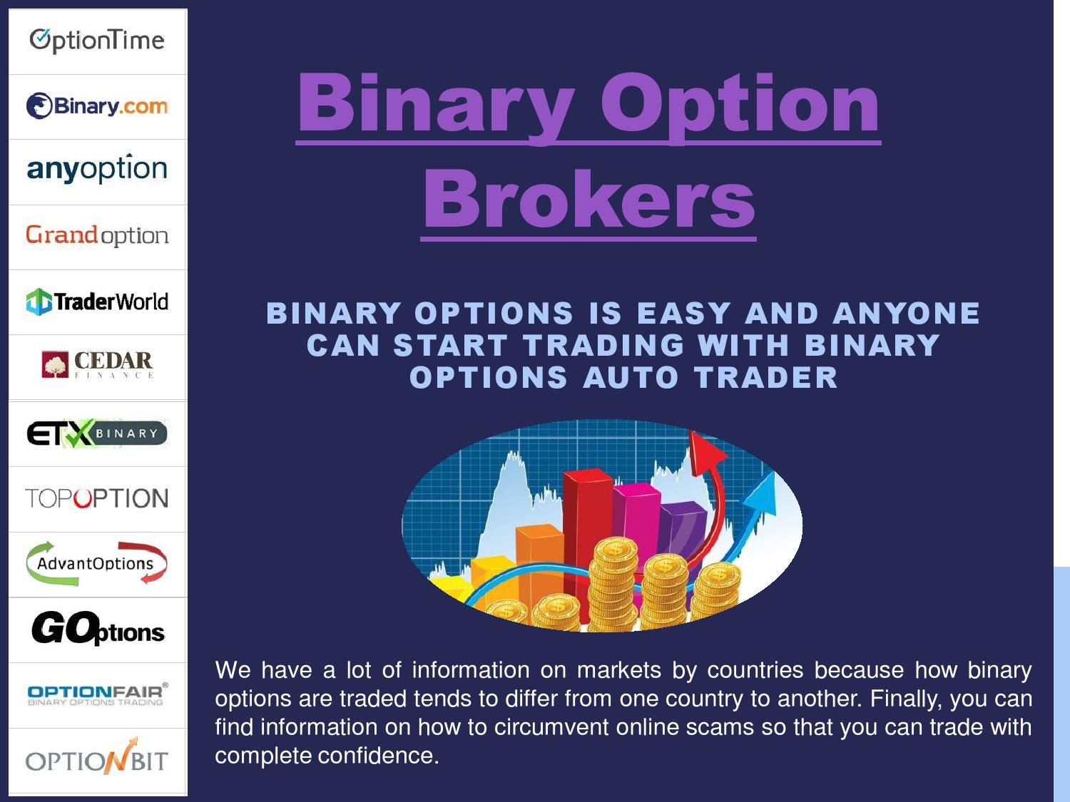 Binary option brokers in india