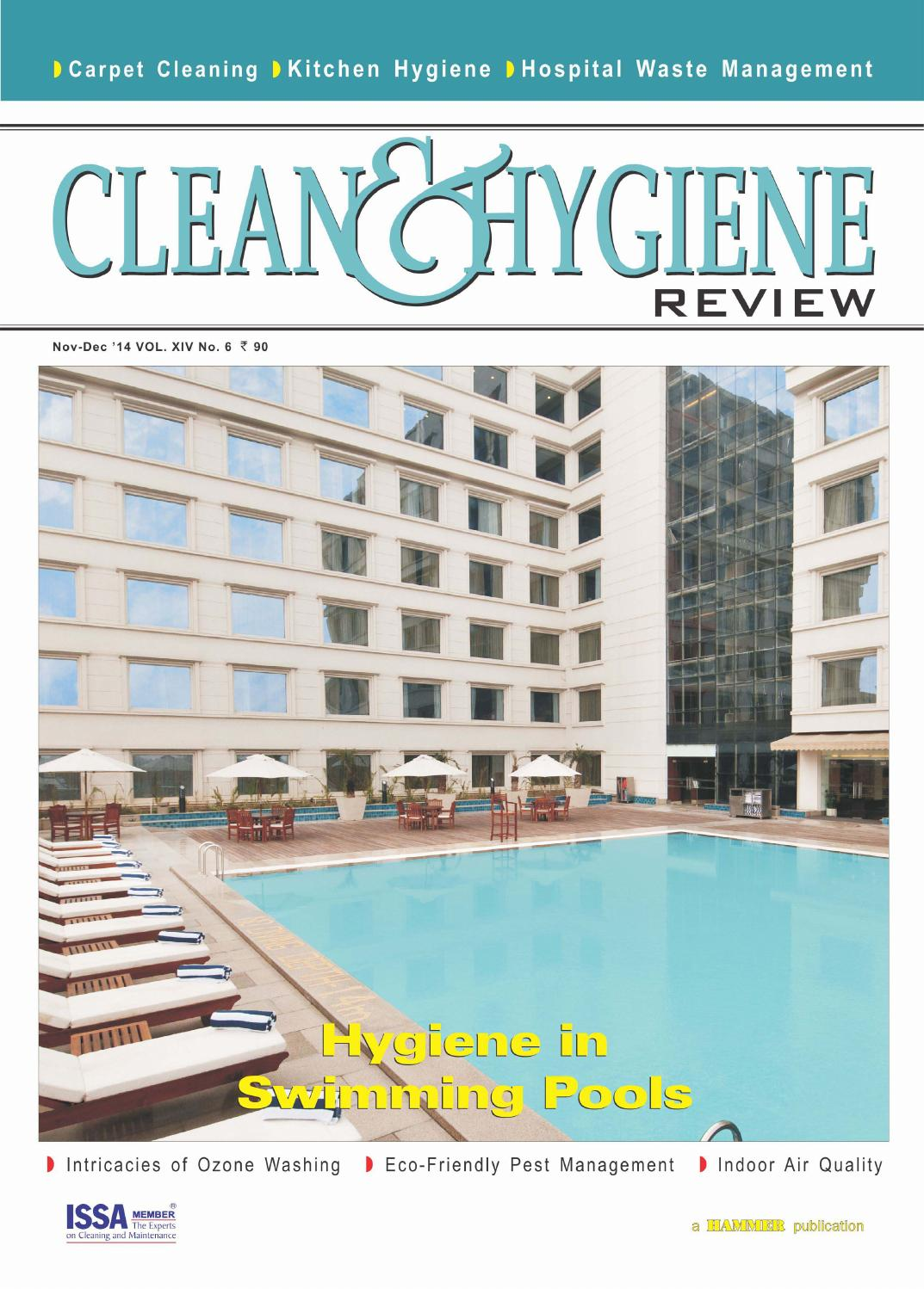 Clean & Hygiene Review ( Nov-Dec 2014) by Clean & Hygiene Review - issuu