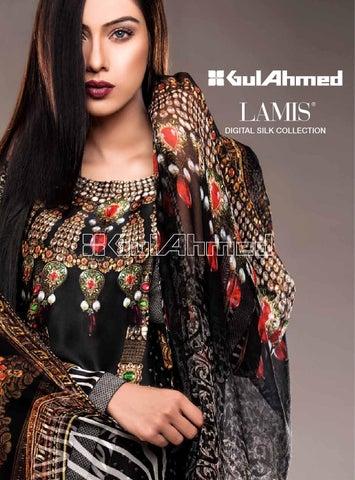 538e97b521 Gul ahmed lamis digital silk collection 2015 magazine clothing9 blogspot com
