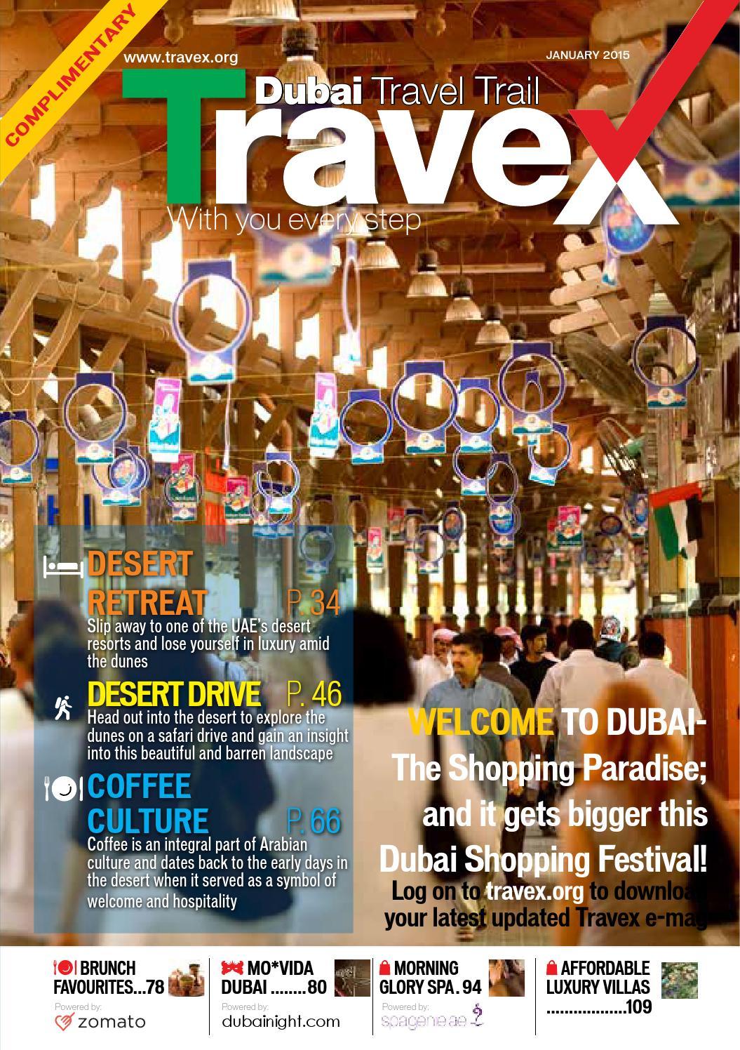Travex Dubai January 2015 Edition by Travex - Dubai Travel