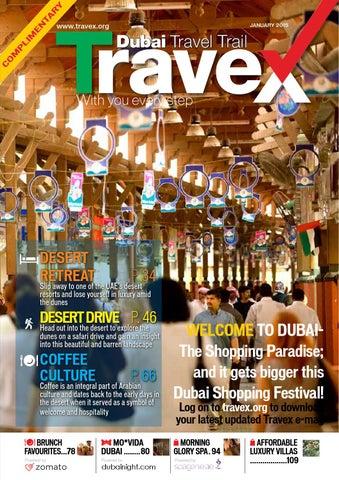 31693a0f7da9 Travex Dubai January 2015 Edition by Travex - Dubai Travel Trail - issuu