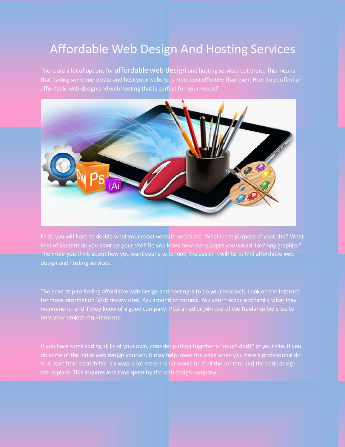 Affordable Web Design By Subham Sarkar Issuu