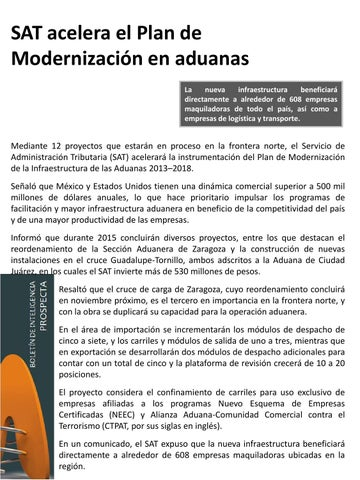 Sat Aduanas By Prospecta Issuu
