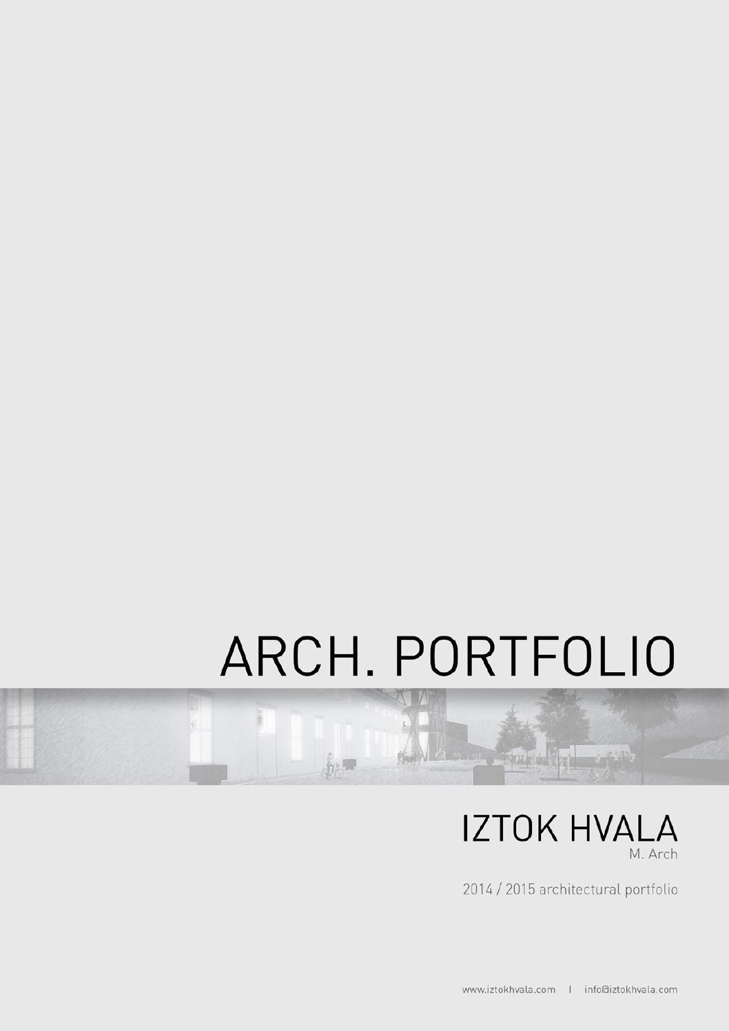 Book Cover Design Application ~ Iztok hvala architectural portfolio by issuu