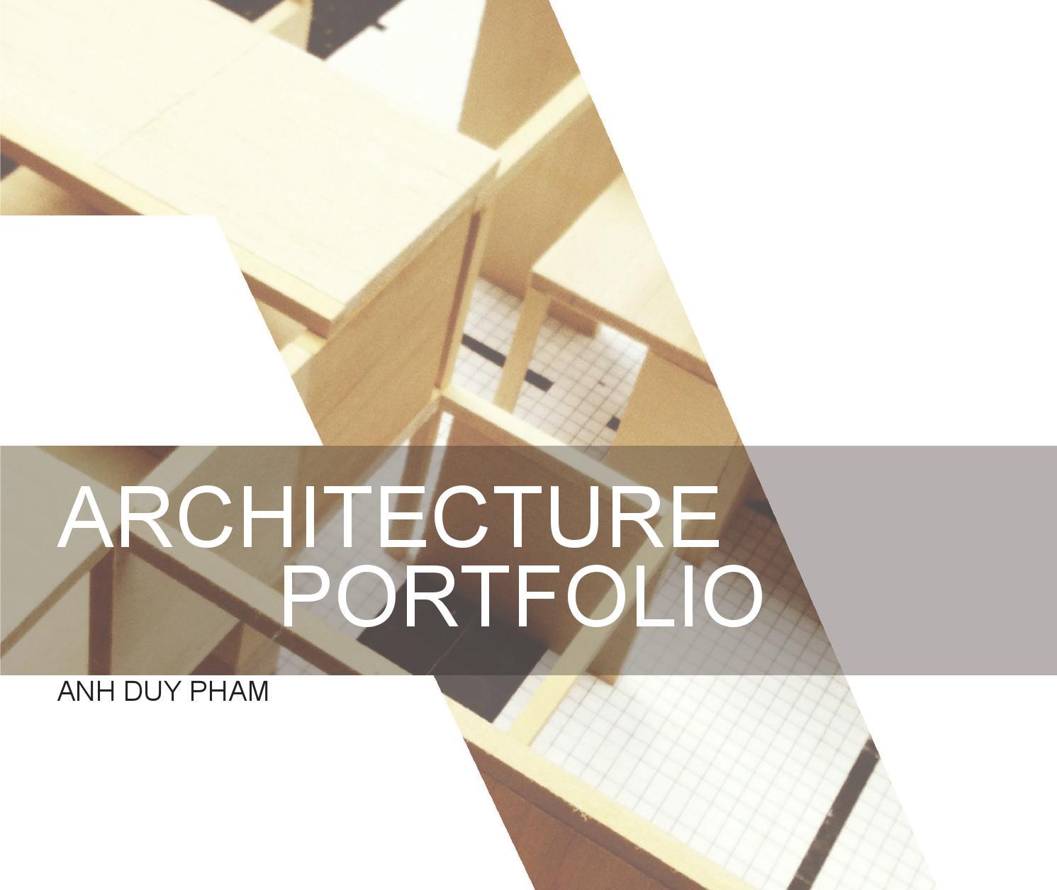 Interior Design Architecture Photography Portfolio: SCAD Undergraduate Architecture Portfolio By Anh Pham