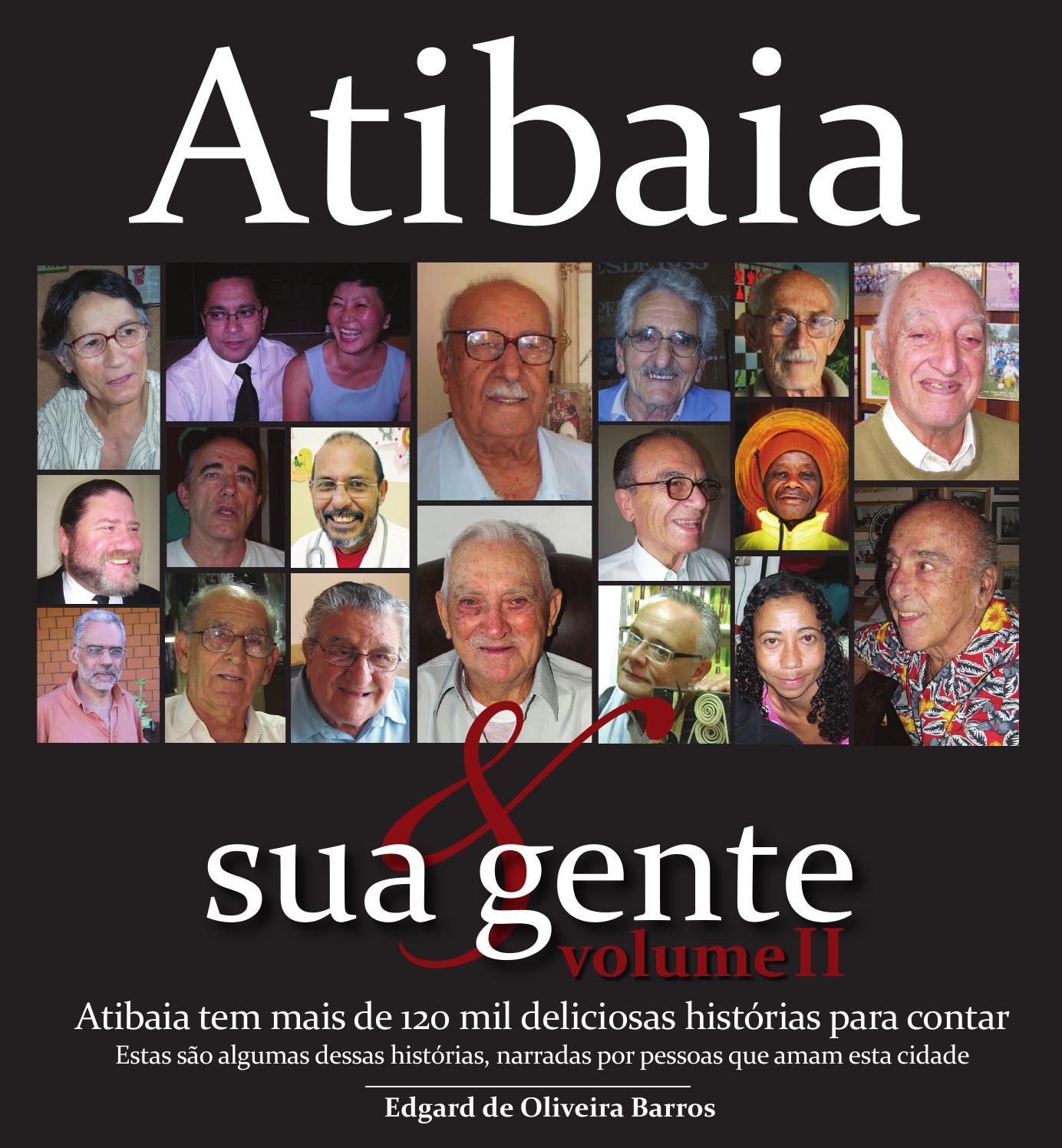 e615af09d9a2 Atibaia & Sua Gente II by Edgard De Oliveira Barros - issuu