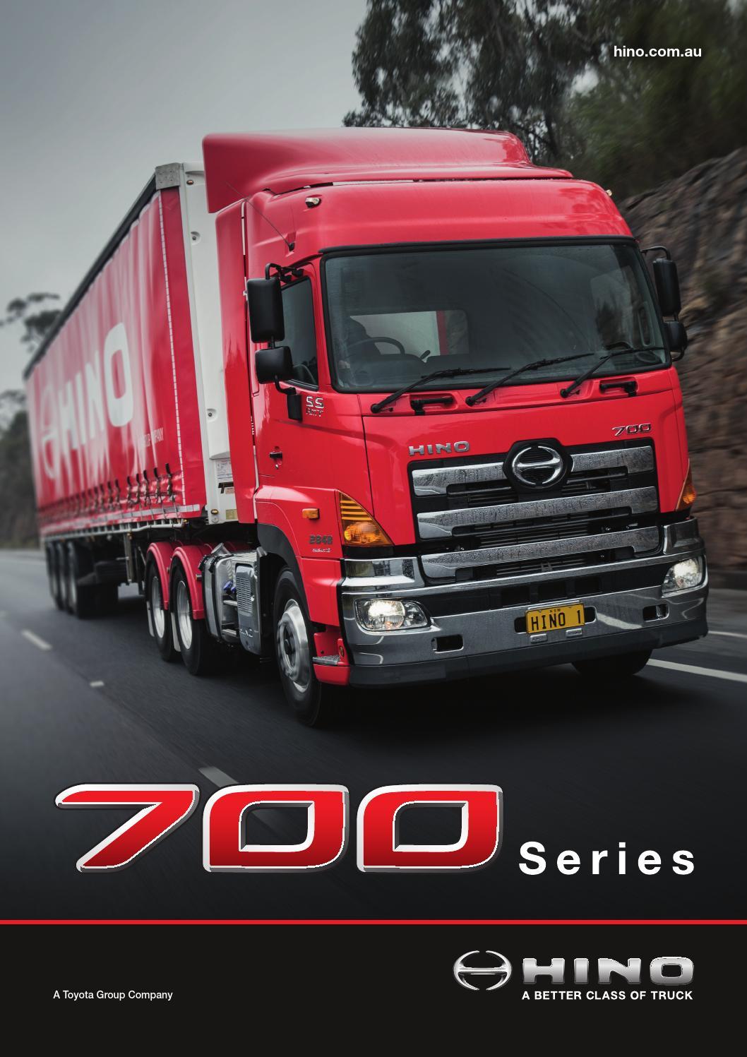 Hino 700 Series by Hino Australia - Issuu Hino Trucks Logo