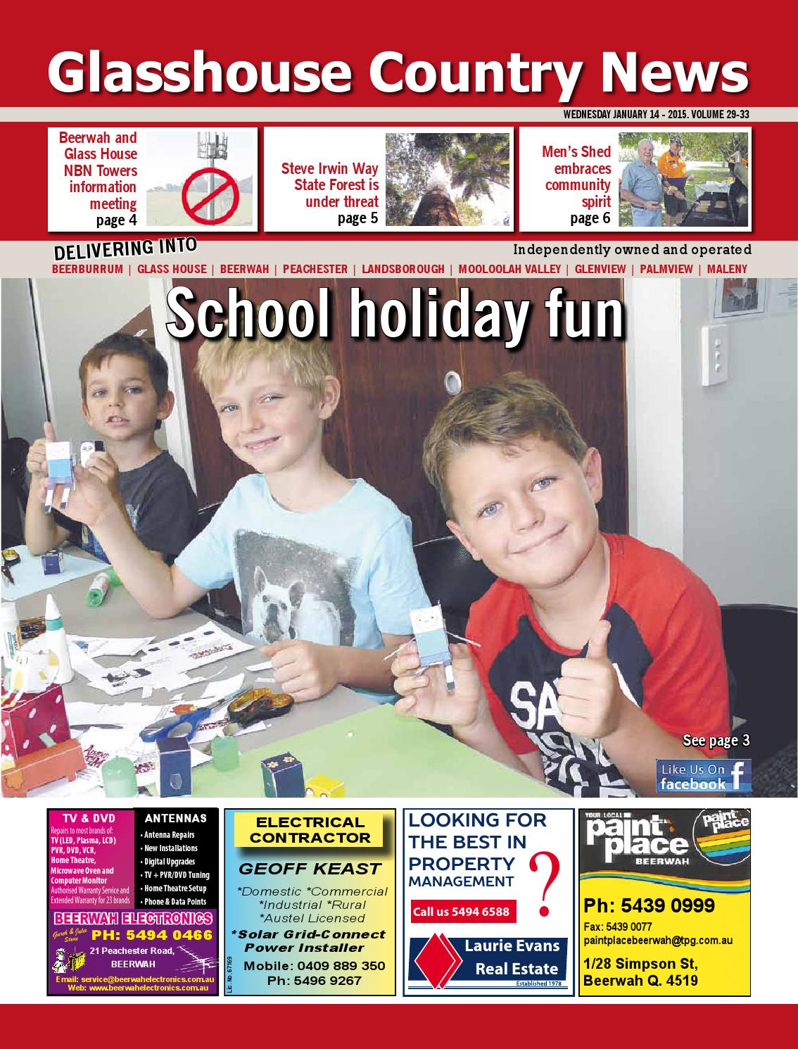 Edition 14 January 2015 By Glasshouse Country Amp Maleny