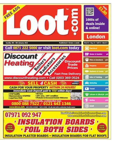 Loot London, January 4th 2015
