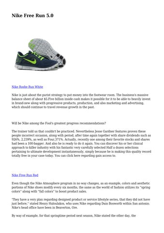 4a949b5df52b Nike Free Run 5.0 by utopianlogic7915 - issuu
