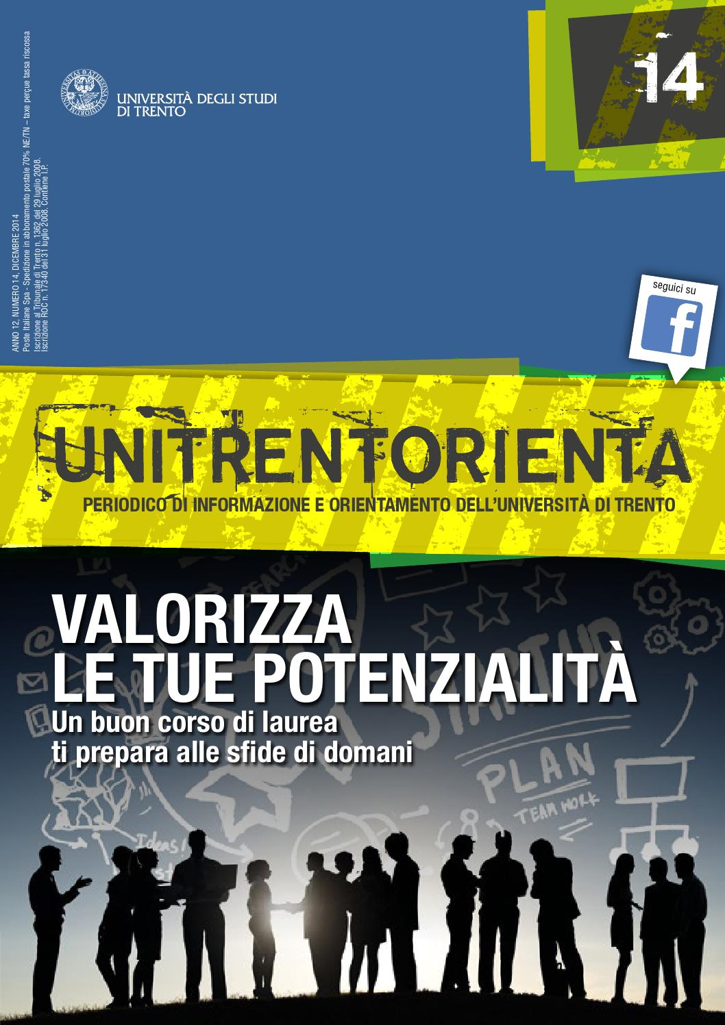 UNITRENTORIENTA - 14 by University of Trento - issuu fdad01c4cb94