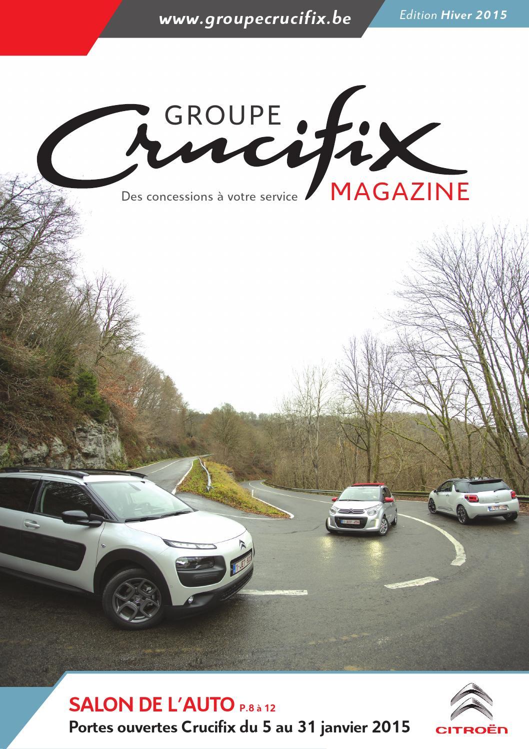 Groupe crucifix magazine 2015 by garage crucifix garage for Garage citroen melle 79