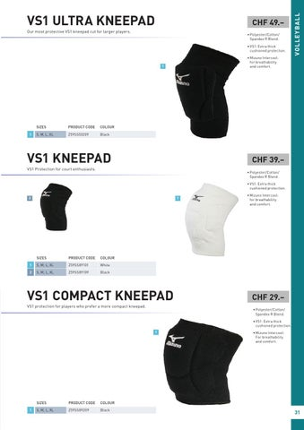 mizuno vs1 compact kneepad