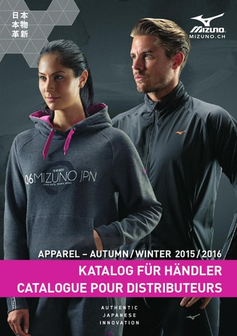Mizuno Katalog Apparel AW15 16 by Mizuno Switzerland - issuu 2df499ee93d