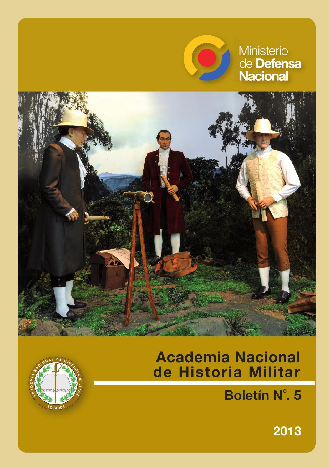 Boletín 5 de la Academia Nacional de Historia Militar by Academia ...