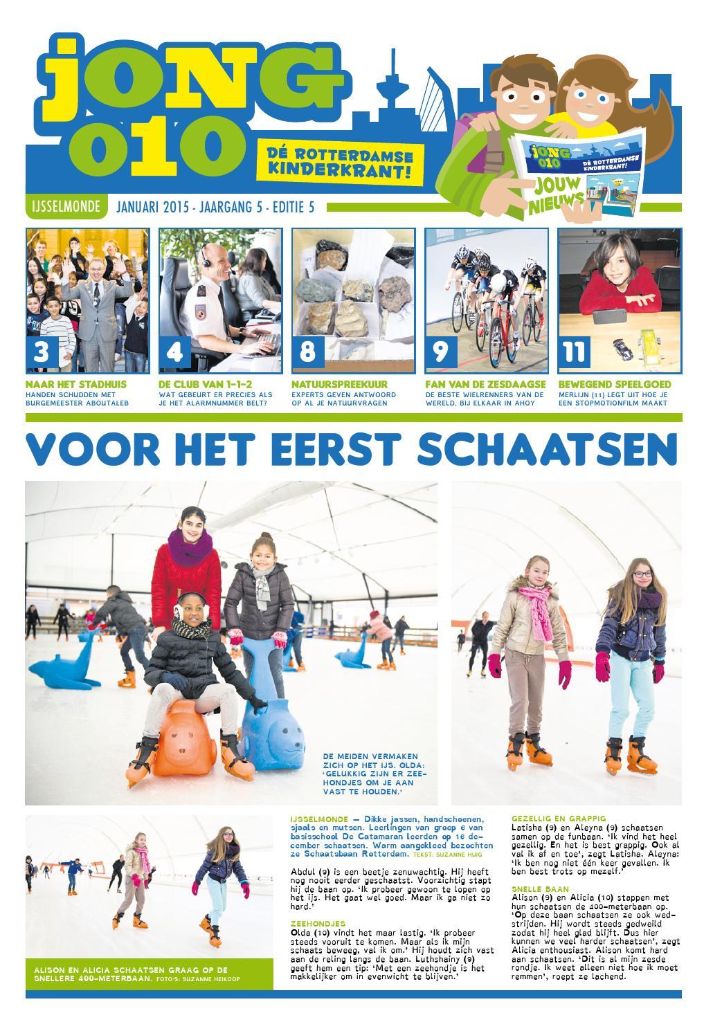fef4e5719e3 JONG010 JANUARI 2015 IJSSELMONDE by Jong010, dé Rotterdamse kinderkrant -  issuu